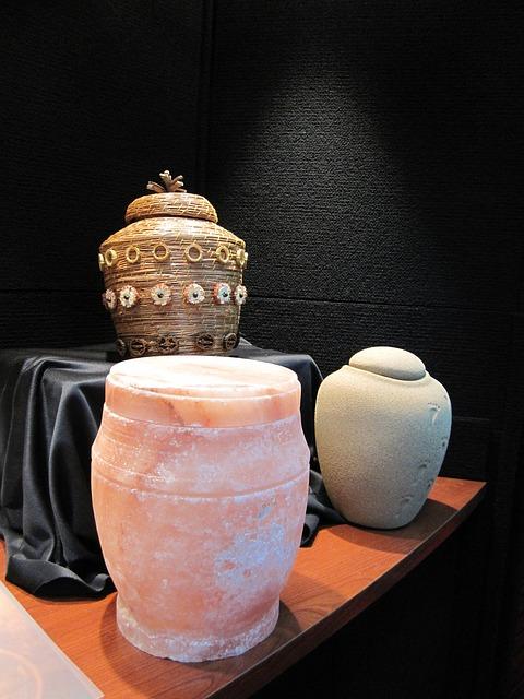 urna na prochy po kremacji zwłok